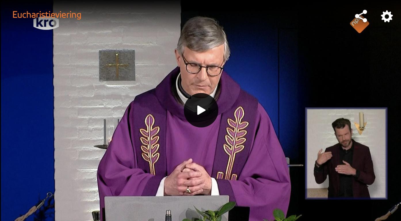 Eucharistieviering KRO met gebarentolk